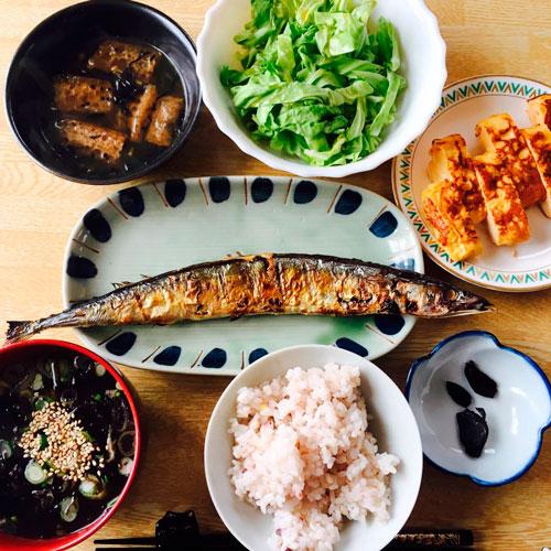 産後ダイエット77日目の昼食