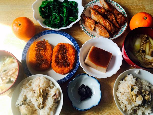 産後ダイエット 100日目の昼食