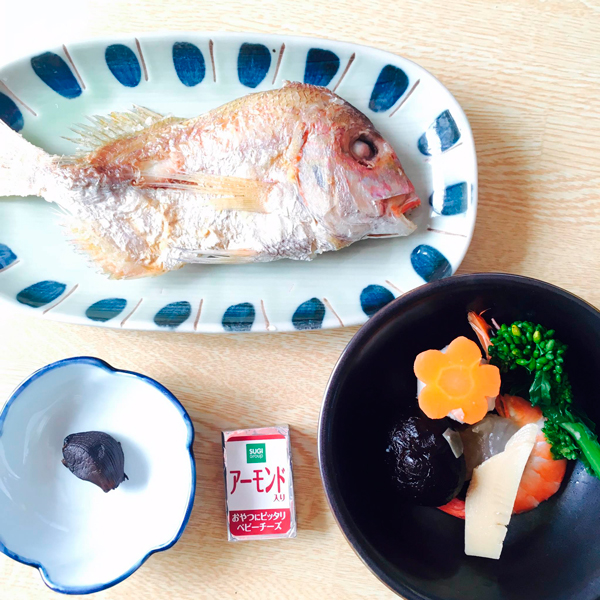 産後ダイエット 94日目の朝食