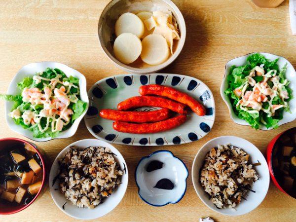 産後ダイエット130日目の昼食