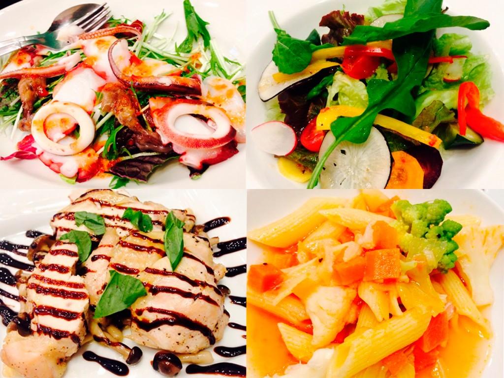 0312ダイエットセミナーフルコース料理