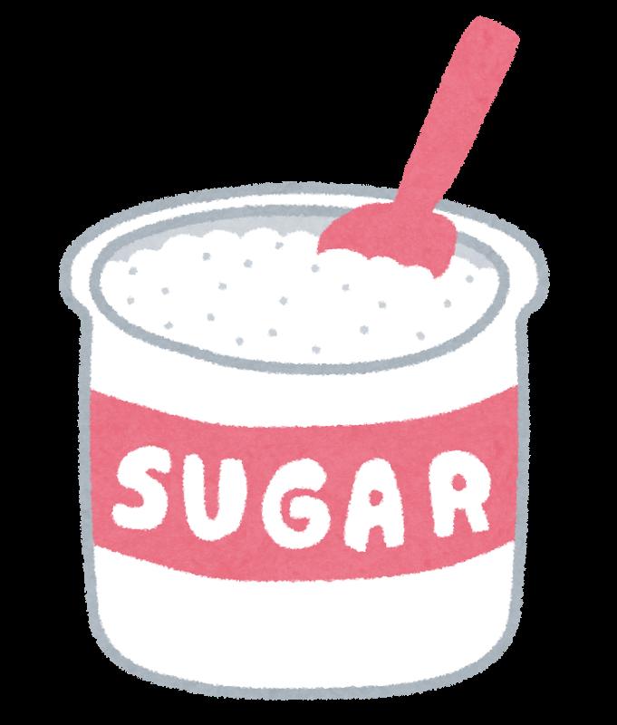 間食に砂糖(甘いもの)