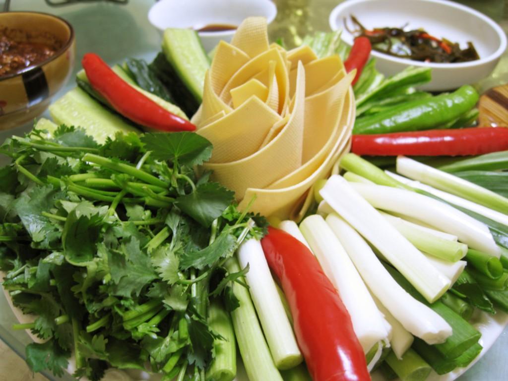 野菜スティックの様子