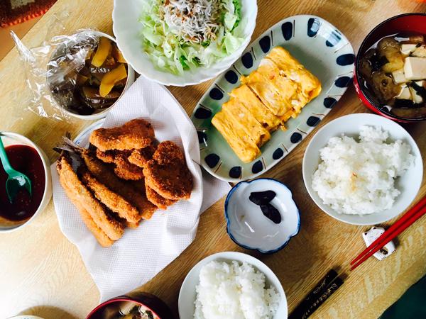 産後ダイエット124日目の昼食